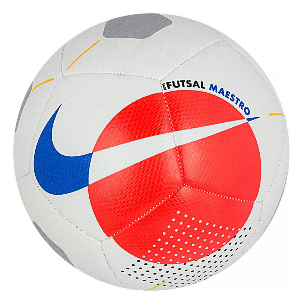 Bola Nike Futsal Maestro Branco Neon
