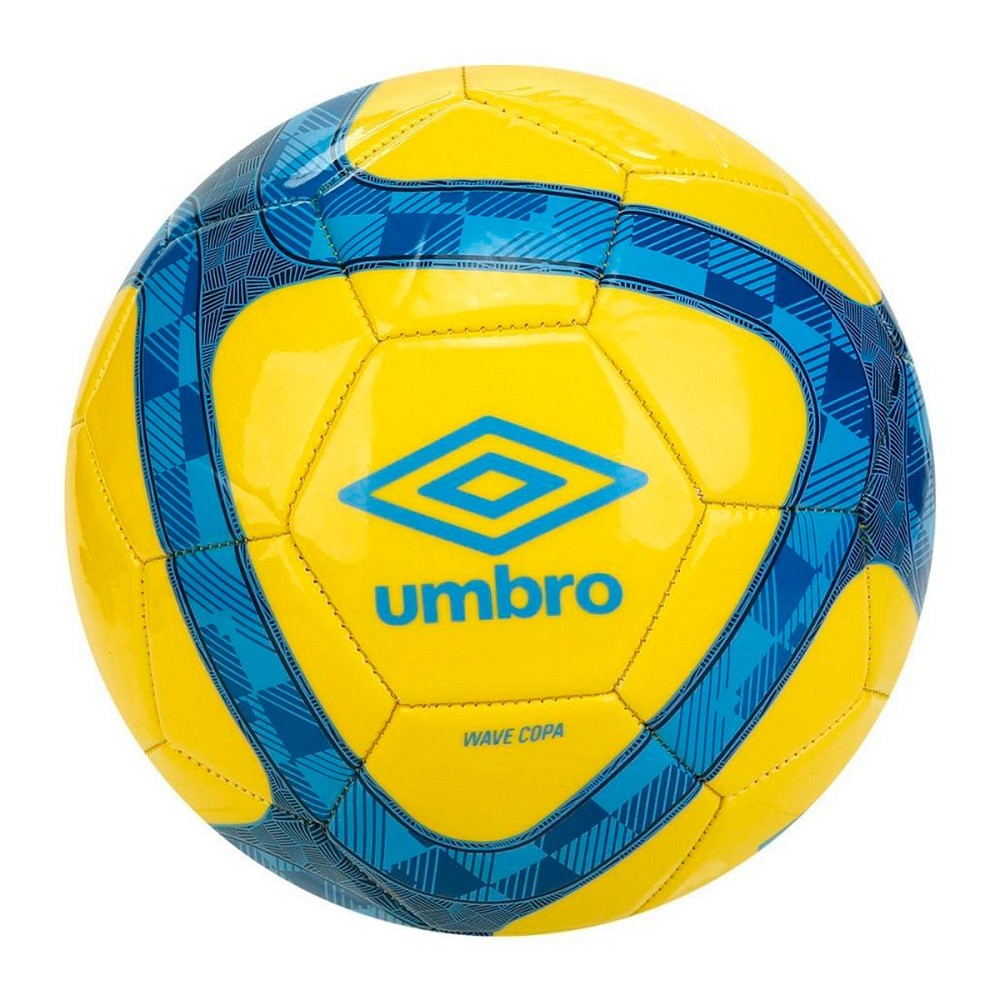 Bola Umbro Campo Wave Copa Amarelo Azul