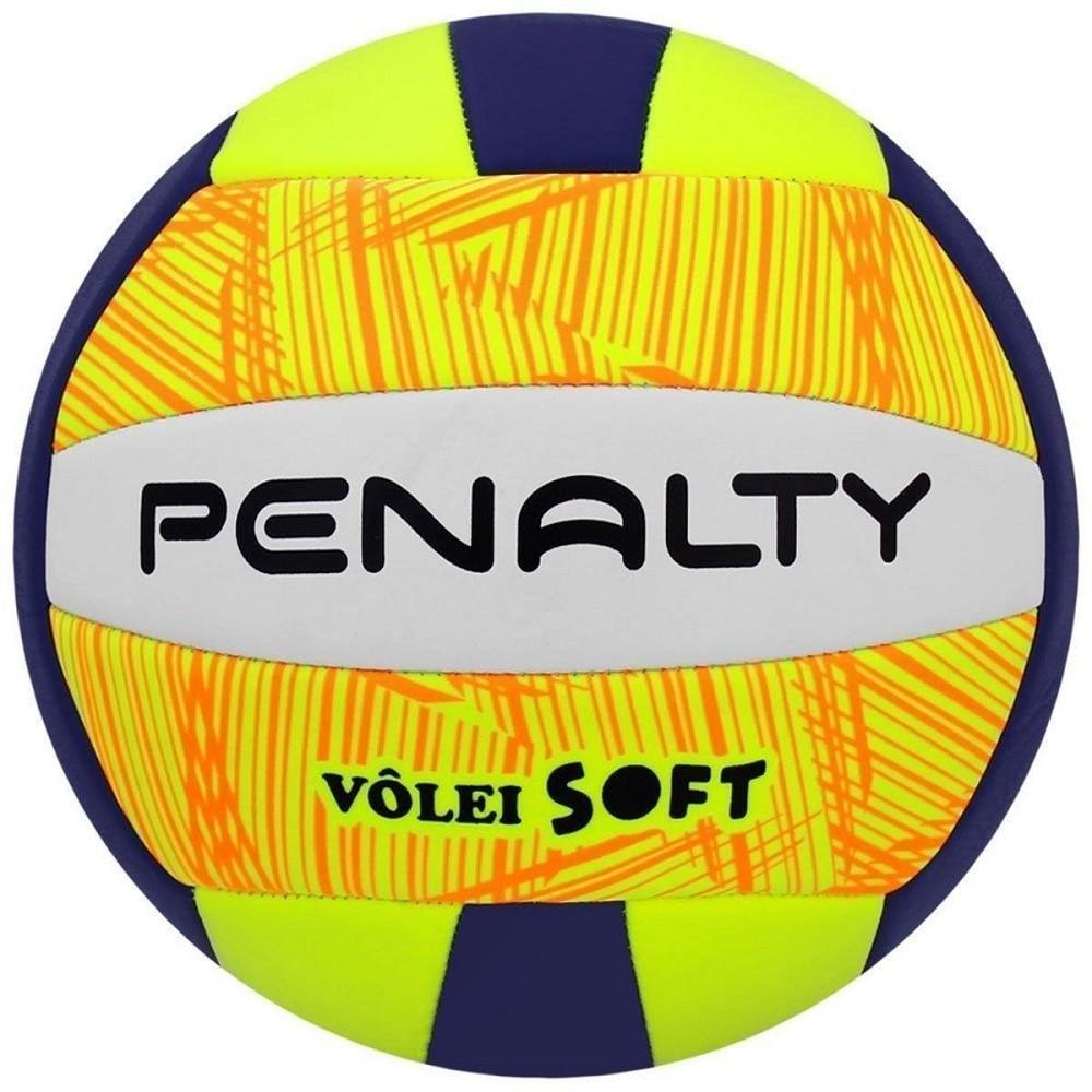 Bola Vôlei Penalty Soft X Verde Azul