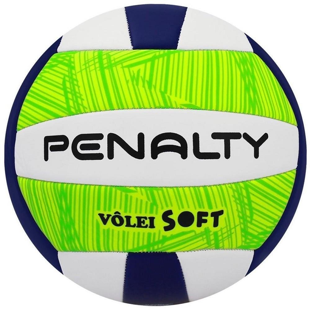 Bola Vôlei Penalty Soft X Verde Branco