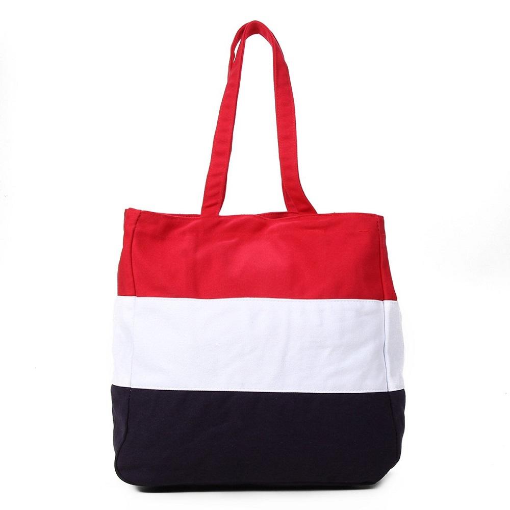 Bolsa Fila Stripes Marinho Branco Vermelho