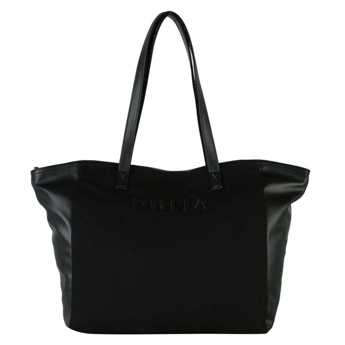 Bolsa Puma Classic Large Shopper - Preta - Feminina