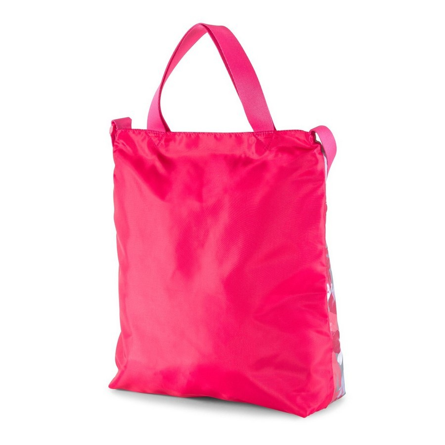 Bolsa Puma Core Seasonal Shopper Florido Rosa