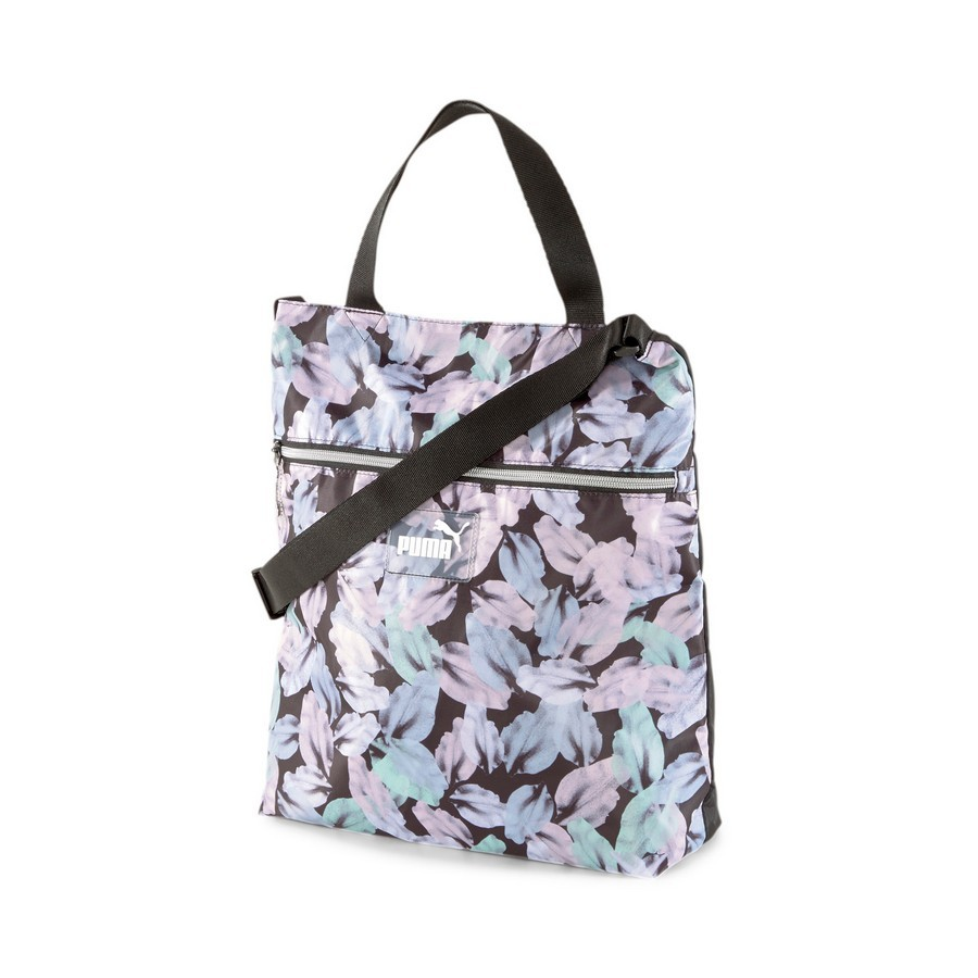 Bolsa Puma Core Seasonal Shopper Preto Florido
