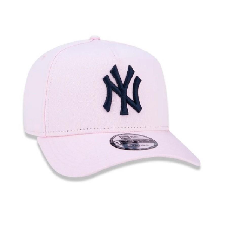 Boné 940 MLB New York Yankees Rosa New Era