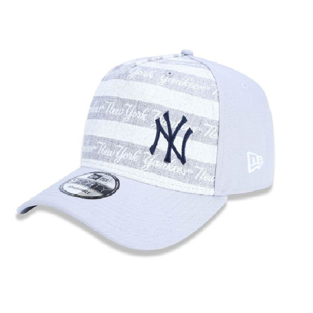 Boné 940 New York Yankees Mlb Snapback Cinza New Era
