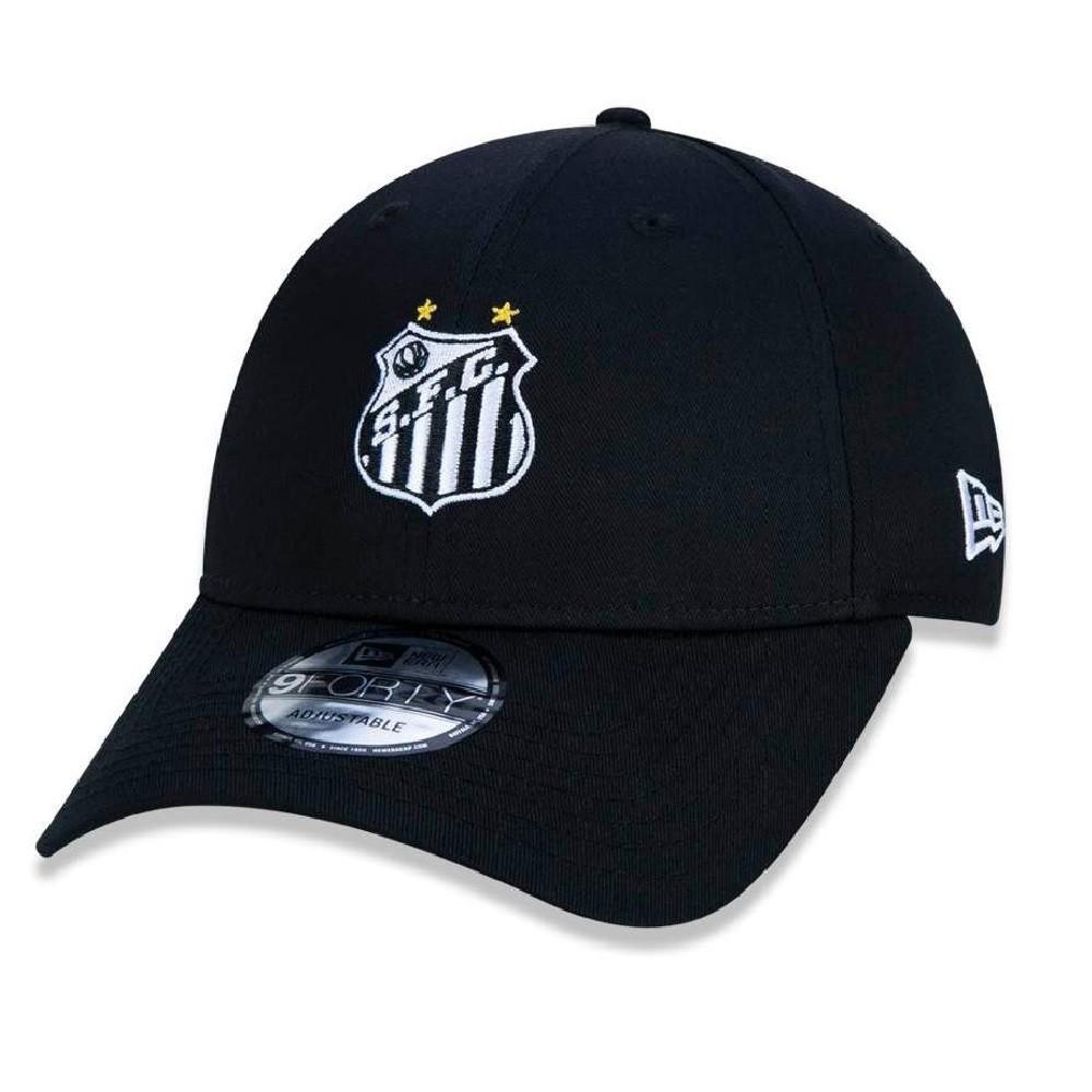 Boné 940 Santos Futebol Preto New Era