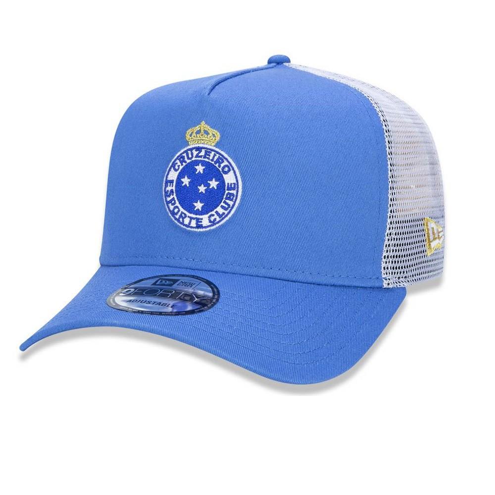 Boné 9forty A-frame Trucker Cruzeiro Azul New Era