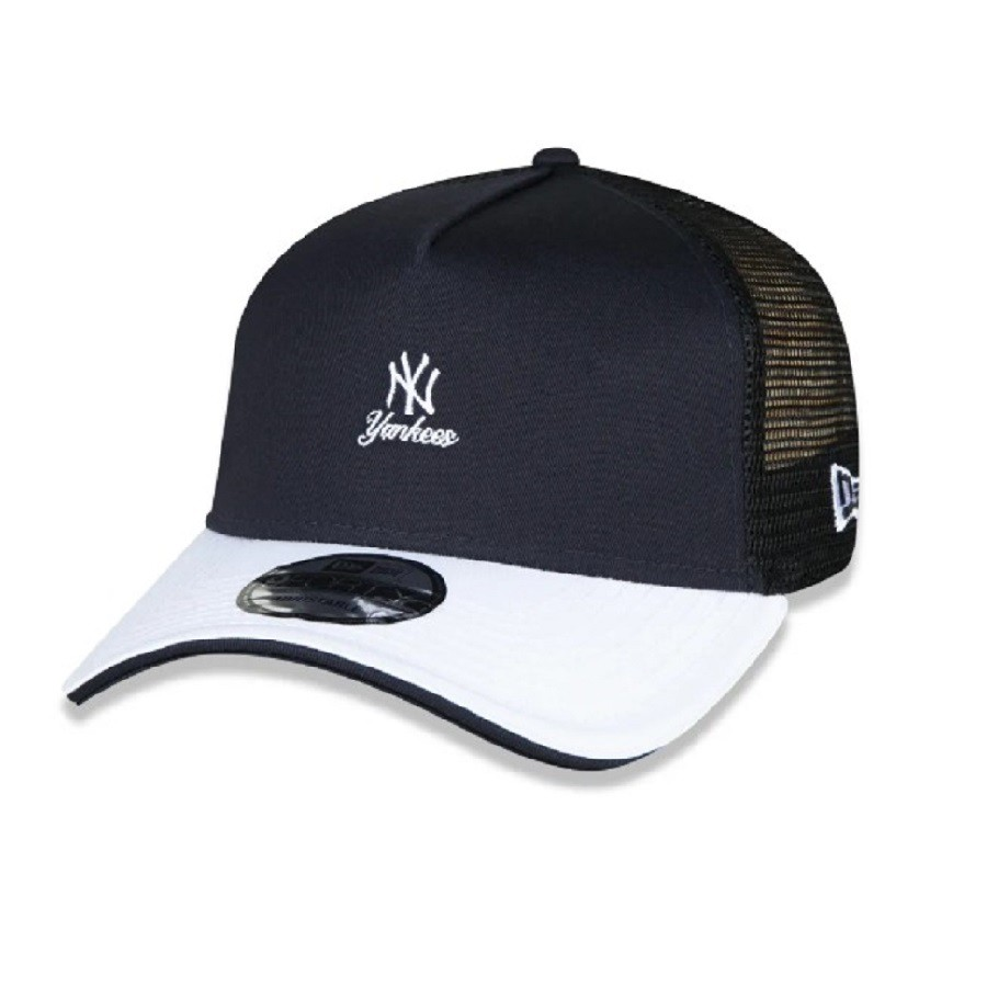 Boné 9Forty A-Frame Trucker MLB Yankees Alkaline Bright New Era