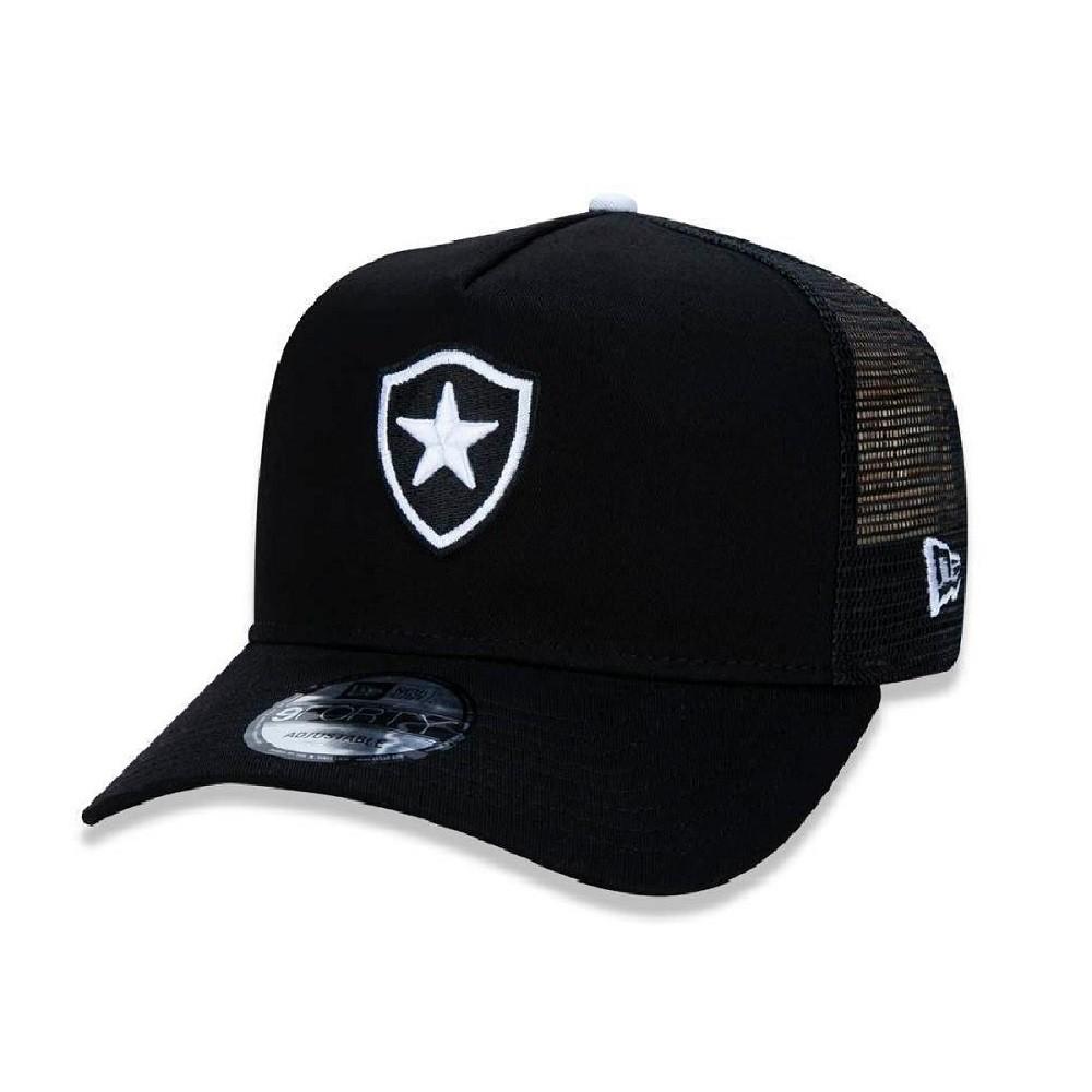 Boné 9Forty Botafogo Preto Branco New Era