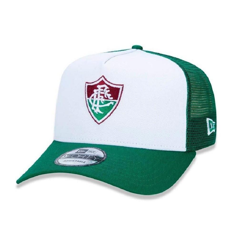 Boné 9Forty Fluminense Verde Branco New Era