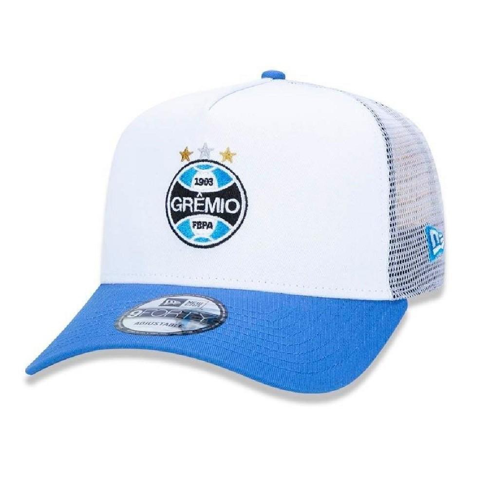 Boné 9Forty Grêmio Branco Azul New Era