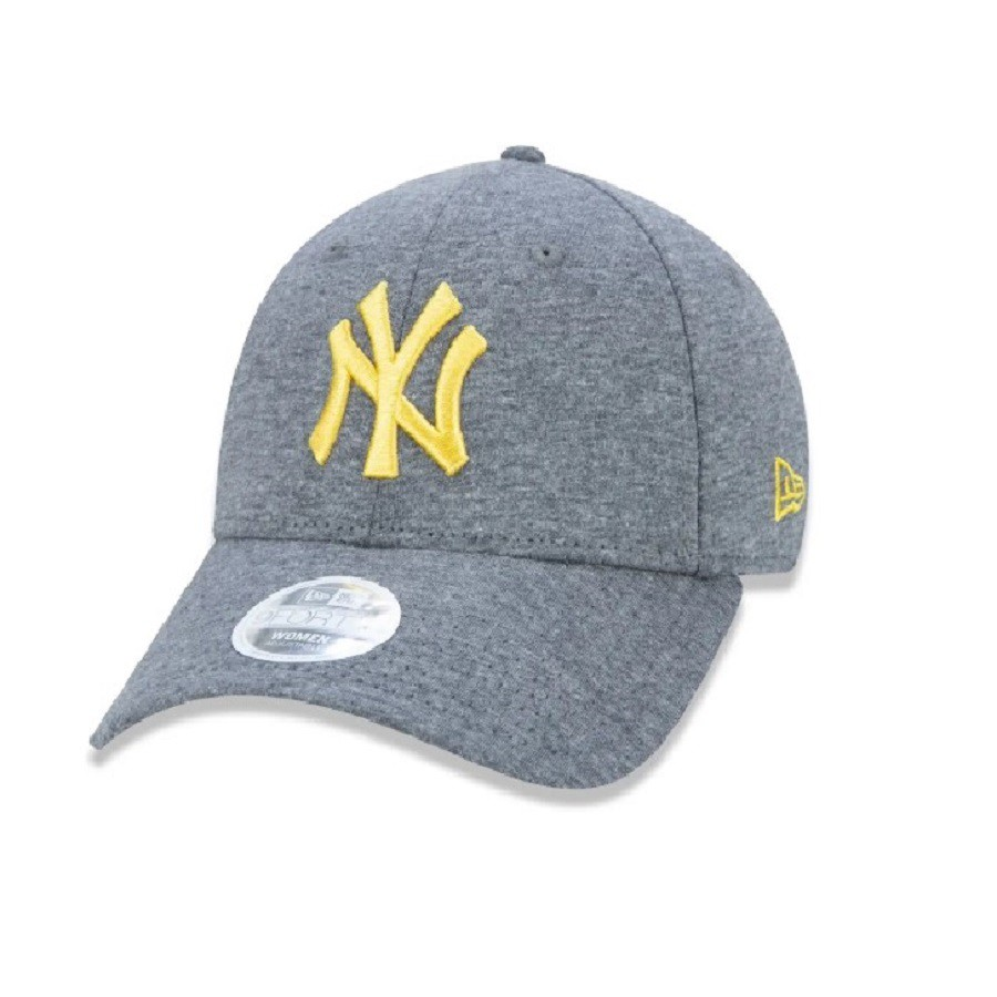 Boné 9Forty MLB New York Yankees Jersey Pack Cinza Amarelo New Era