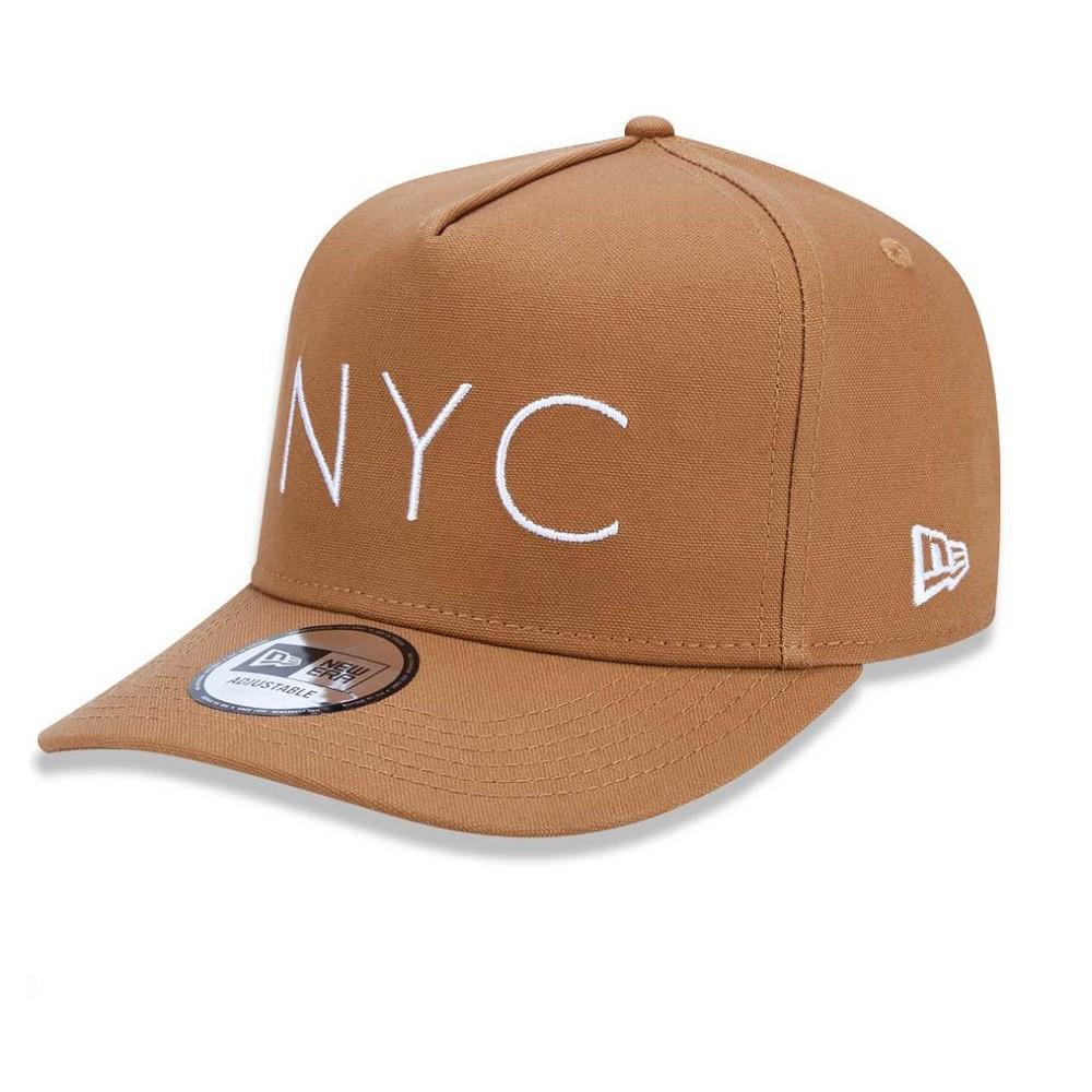 Boné 9Forty New York City Kaki New Era