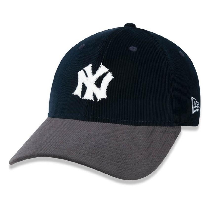 Boné 9forty New York Yankees Mlb Aba Curva Snapback Marinho New Era