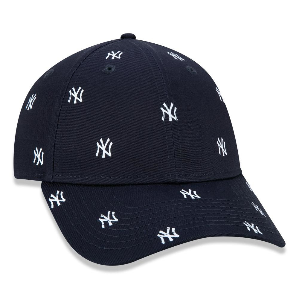 Boné 9Forty Trucker MLB New York Yankees Injection Global Collection Preto New Era