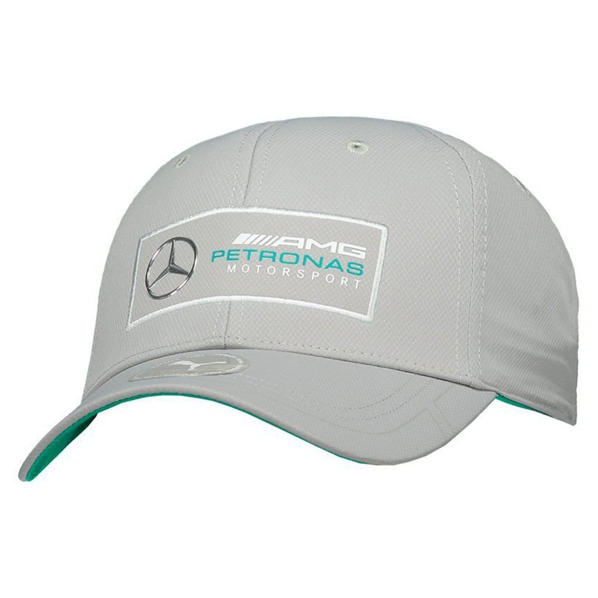 Boné Mercedes Puma AMG Petronas Motorsport  - Prata - Masculino