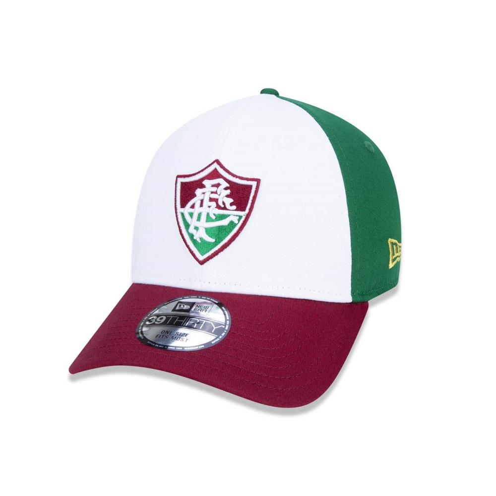 Boné New Era 39THIRTY Fluminense Tricolor