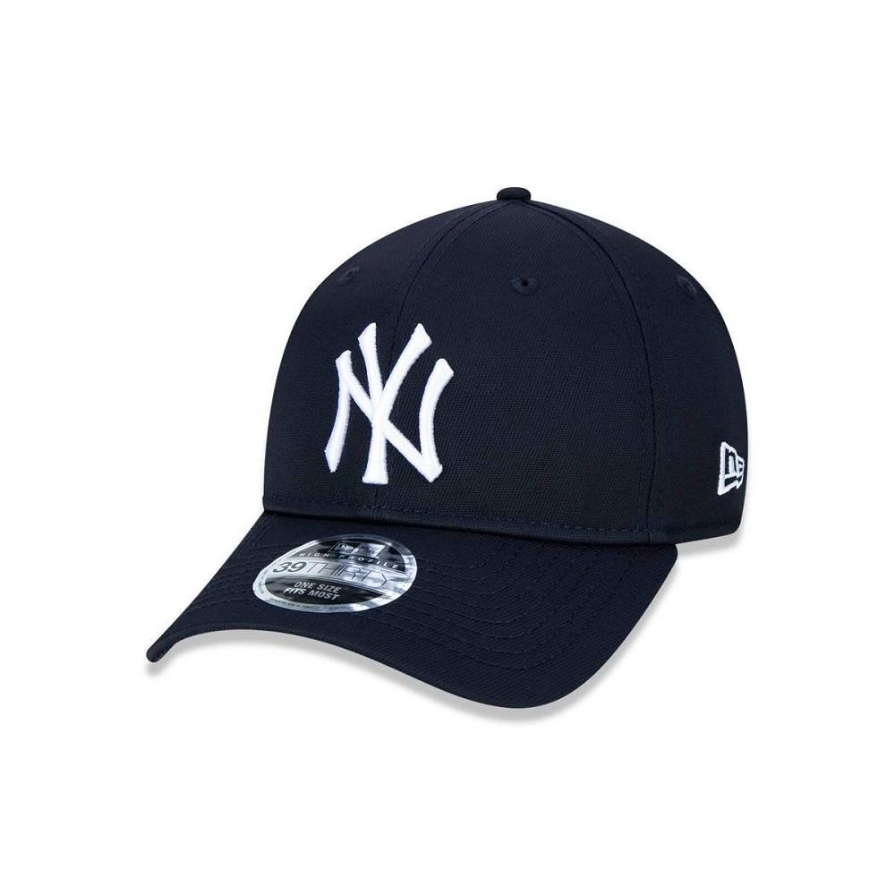 Boné New Era 39THIRTY High Crown New York Yankees Marinho
