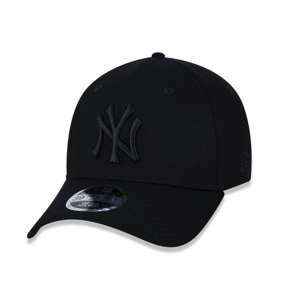 Boné New Era 39THIRTY High Crown New York Yankees Preto