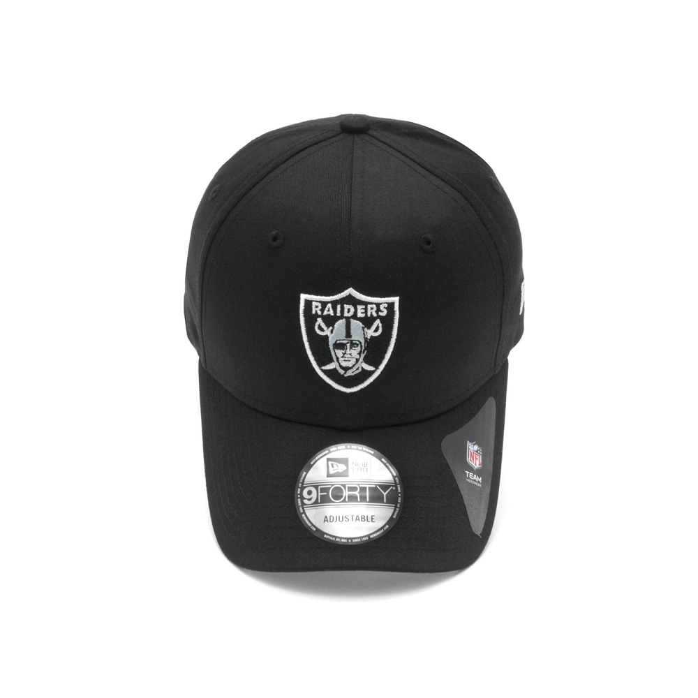 Boné New Era 940 Las Vegas Raiders Preto