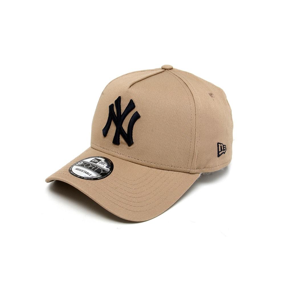 Boné New Era New York Yankees Snapback Bege Preto