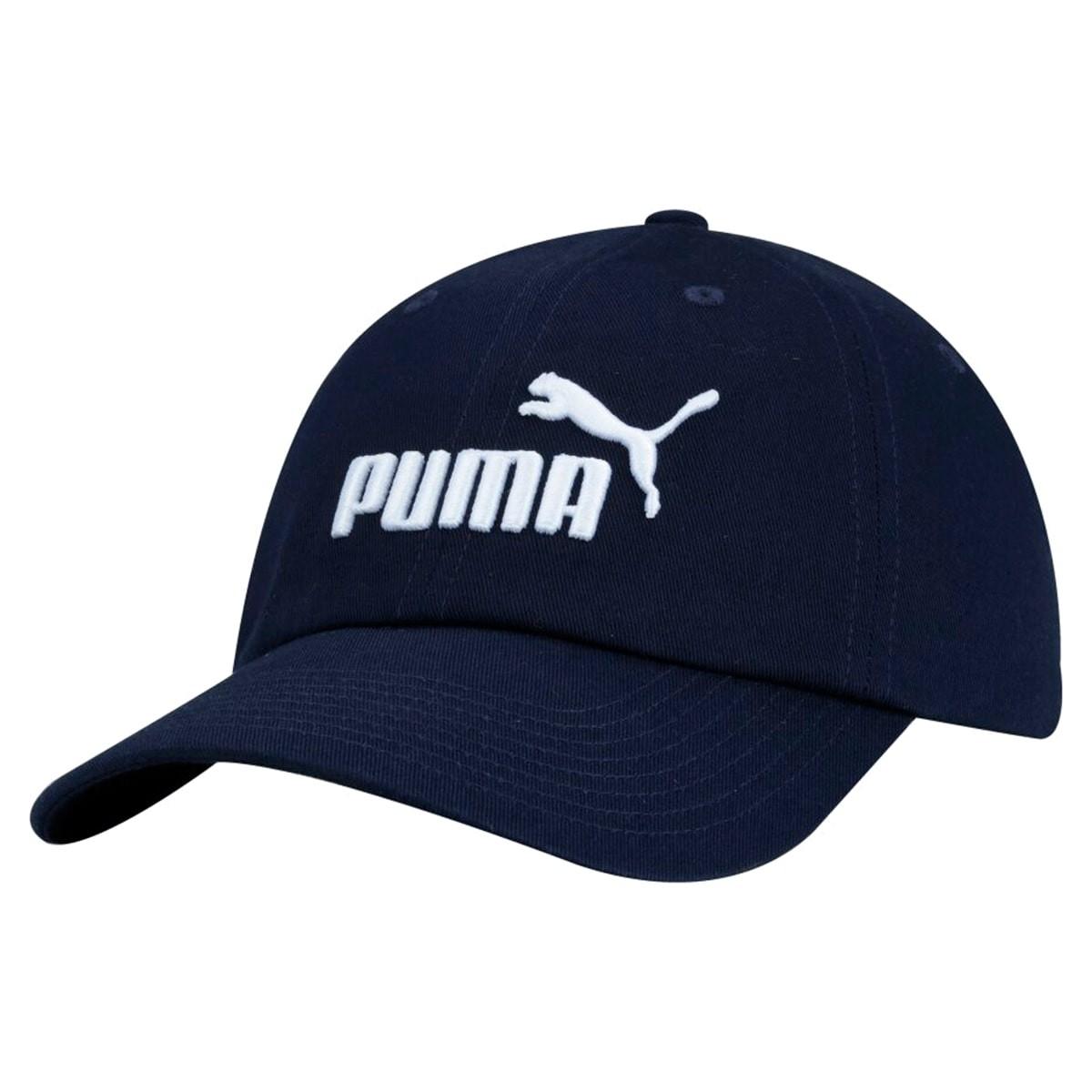 Boné Puma Aba Curva Ess Azul Marinho