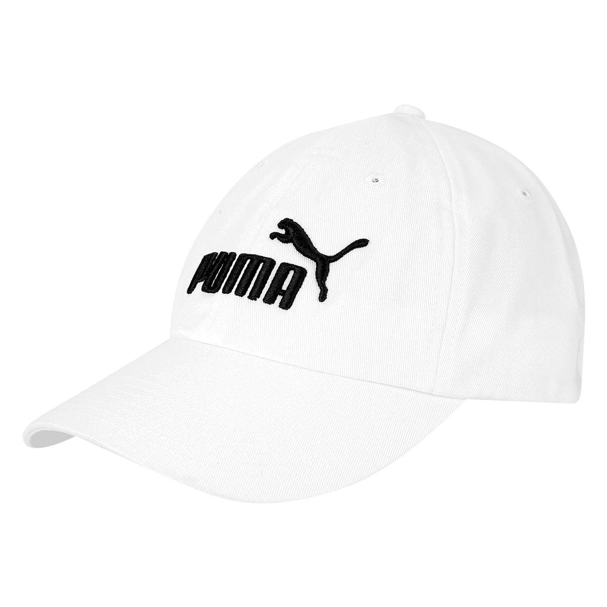 Boné Puma Aba Curva Ess Branco