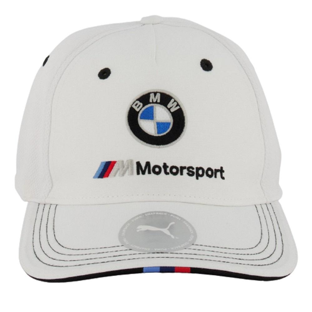 Boné Puma BMW Motorsport BB Logo Branco