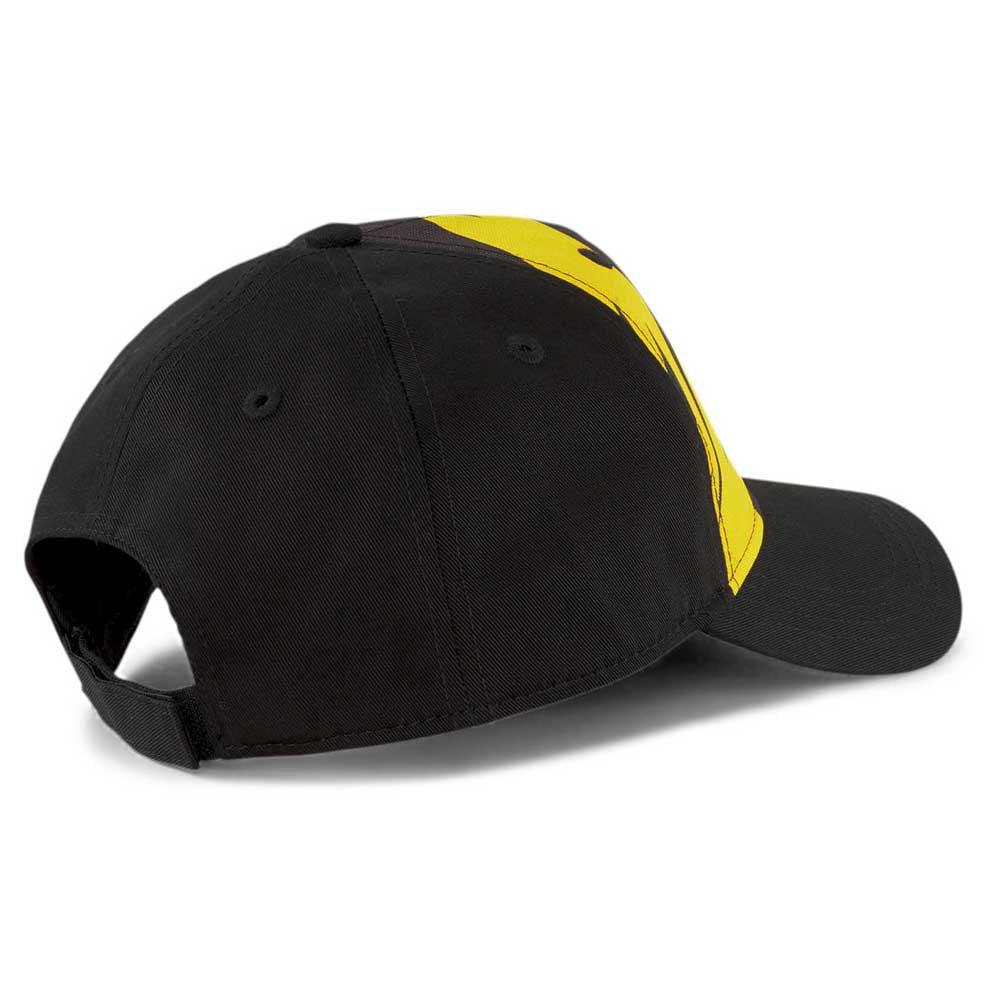 Boné Puma Borussia Dortmund Preto Amarelo