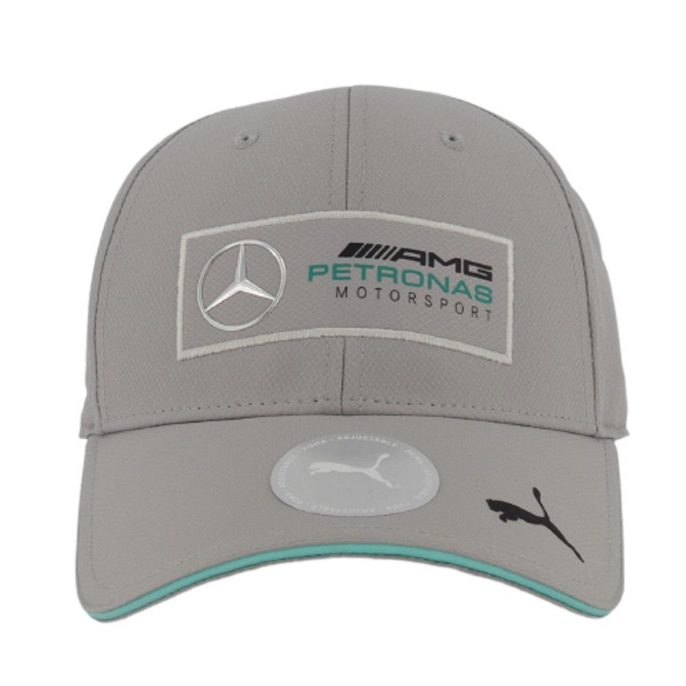 Boné Puma Mercedes AMG Petronas Silver Arrows Cinza