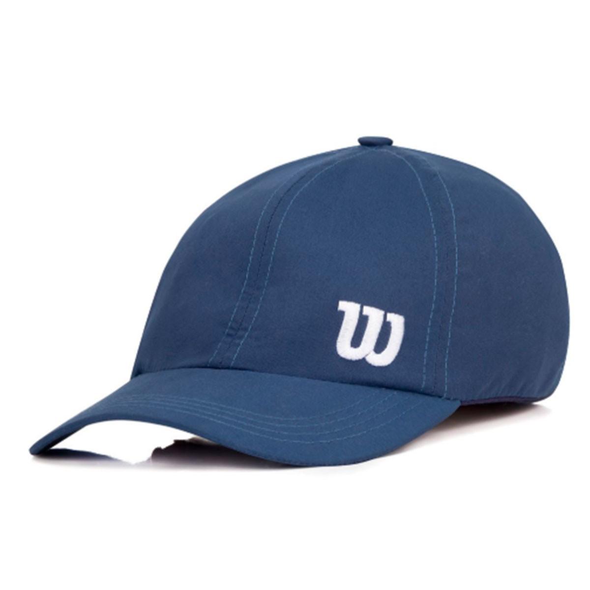 Boné Wilson Basic Logo Azul Marinho