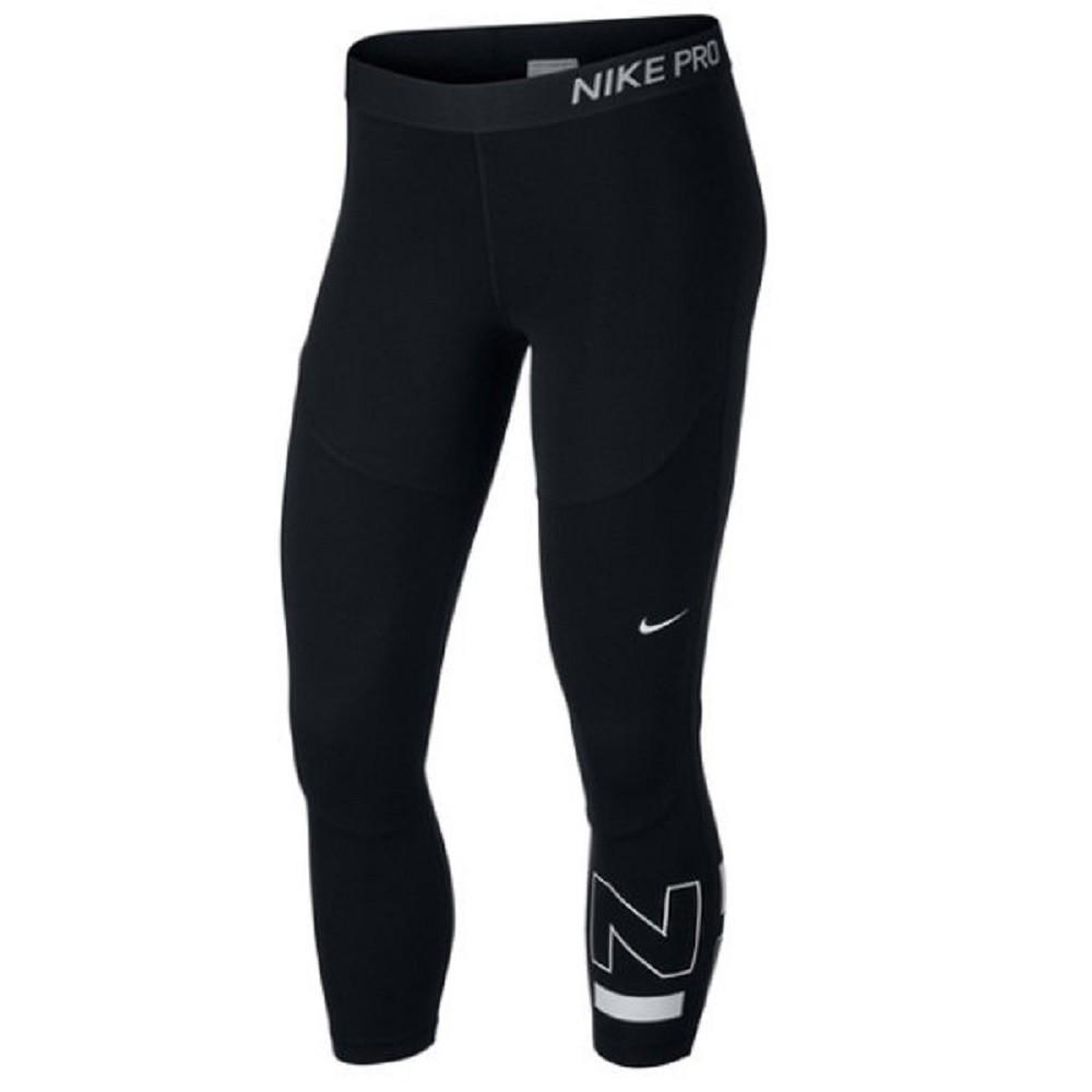Calça Legging Nike Pro Surf Sport Crop Preto