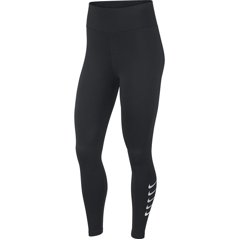 Calça Legging Nike Swoosh Run Tight Feminino Preto