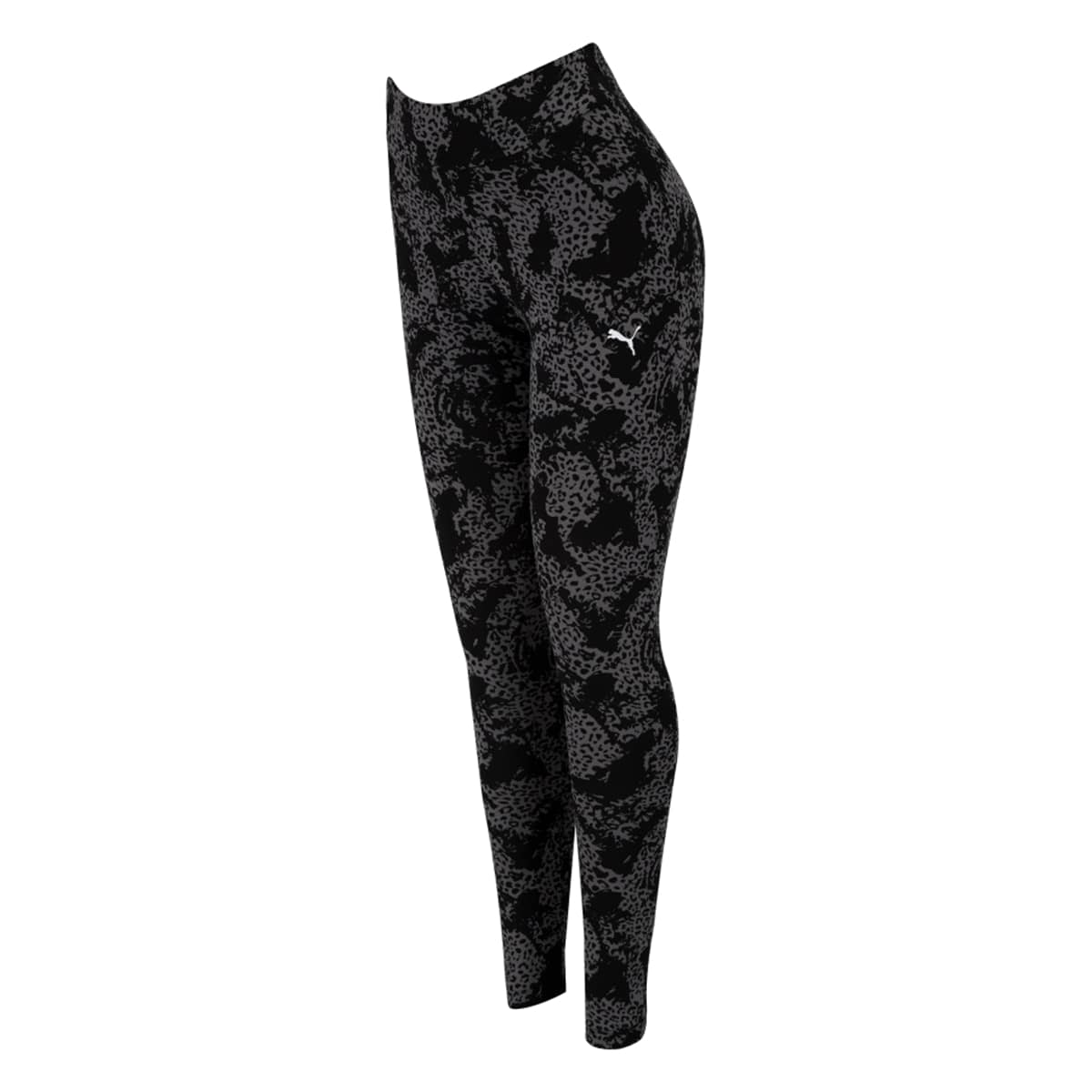 Calça Legging Puma Elevated ESS AOP Feminino Preto