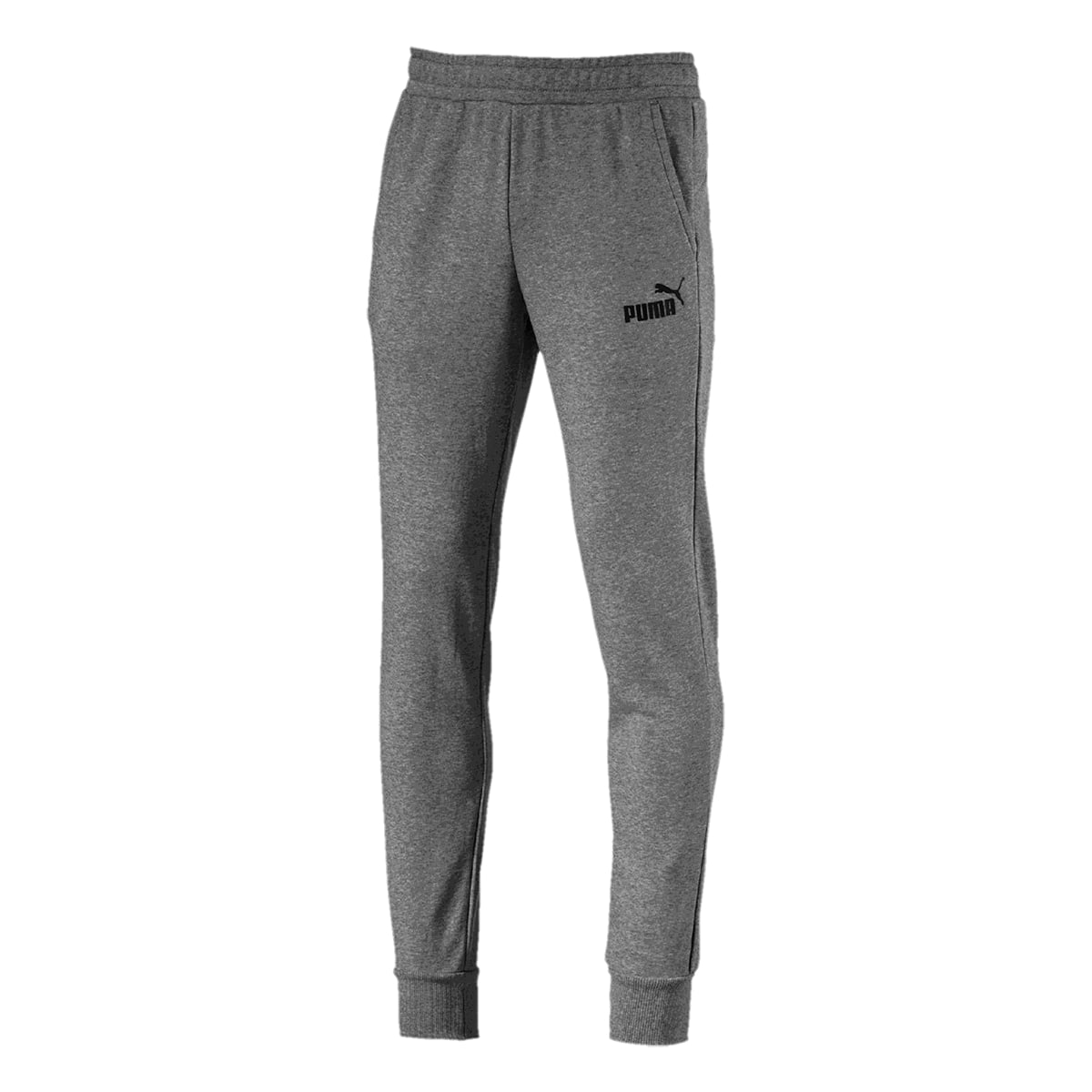 Calça Puma Moletom Elevated ESS Slim Masculino Cinza