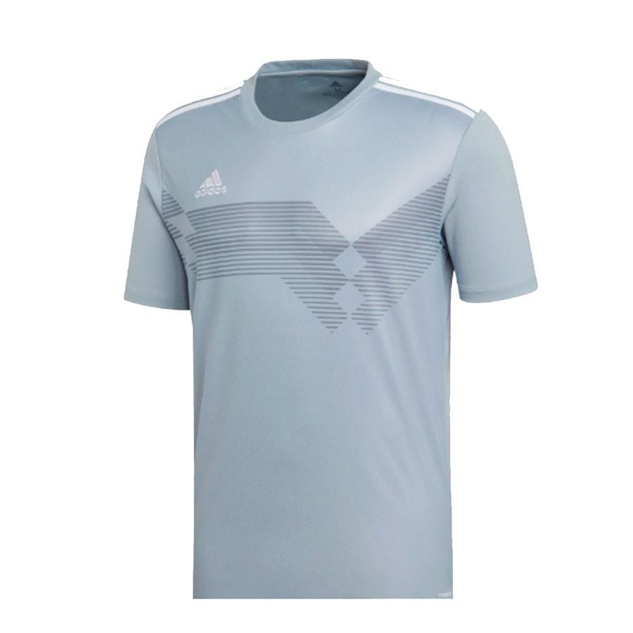 Camisa Adidas Campeon 19 Masculina Cinza
