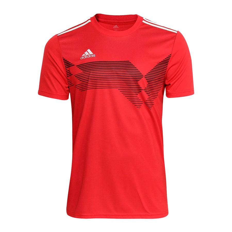 Camisa Adidas Campeon 19 Masculina Vermelho