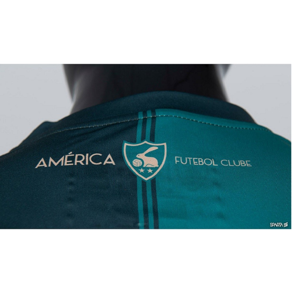 Camisa América MG Of. 1 20/21 S/N° Sparta Masculino Verde
