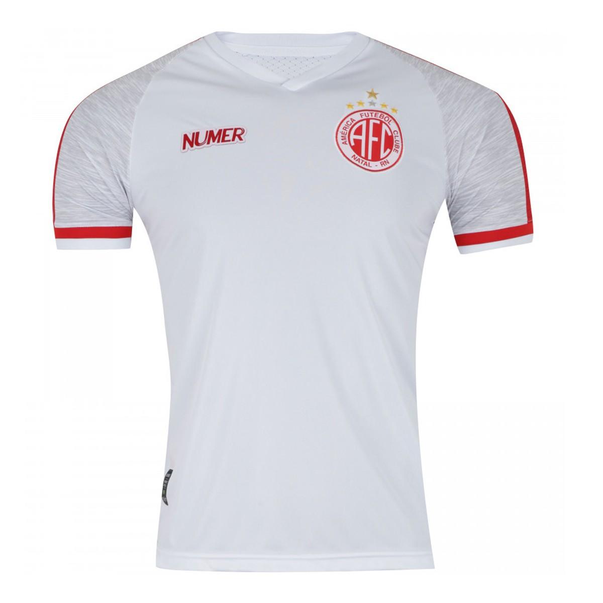 Camisa América RN - Of 2 -Numer - 2019-20 Masculina