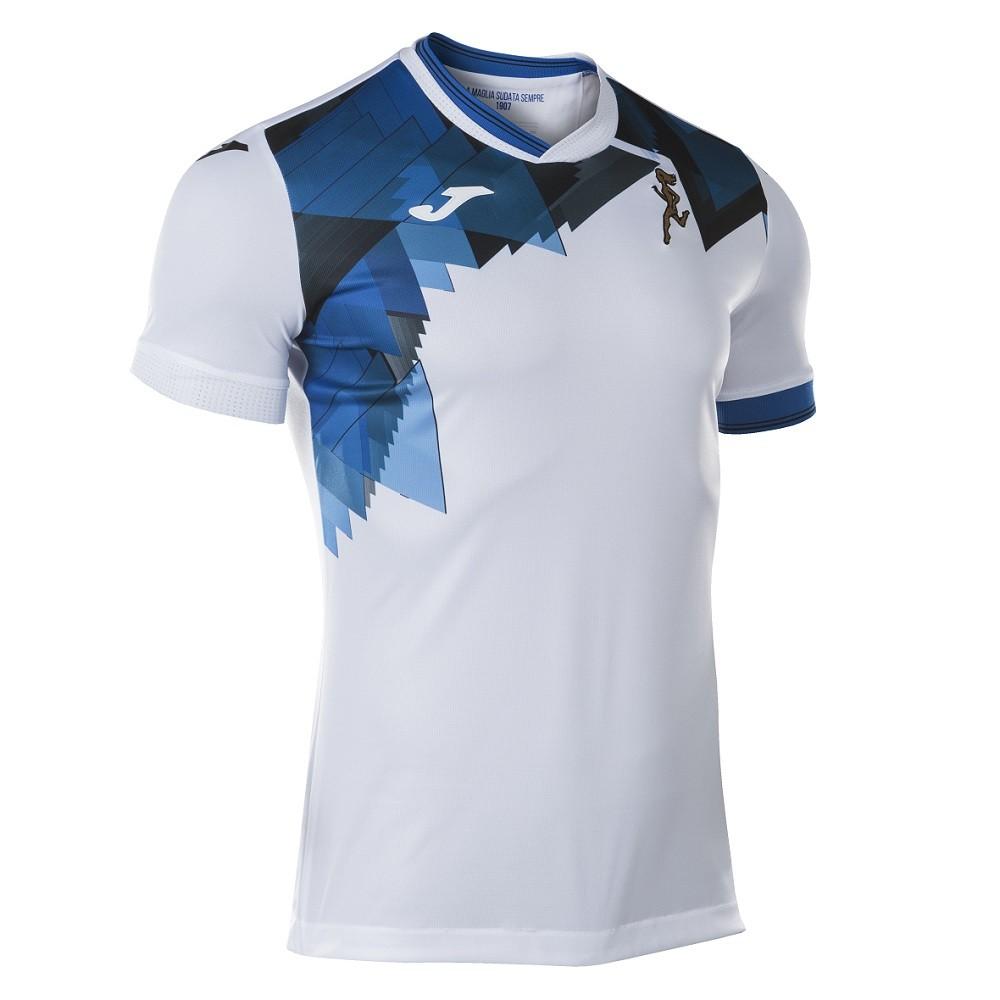 Camisa Atalanta Joma Away 20/21 Masculino Branco Azul