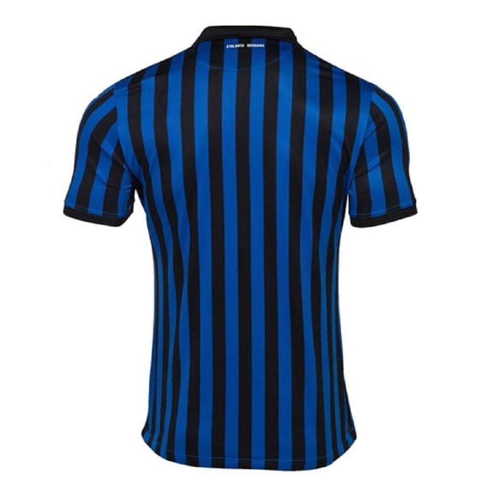 Camisa Atalanta Joma Home 20/21 Masculino Azul Preto