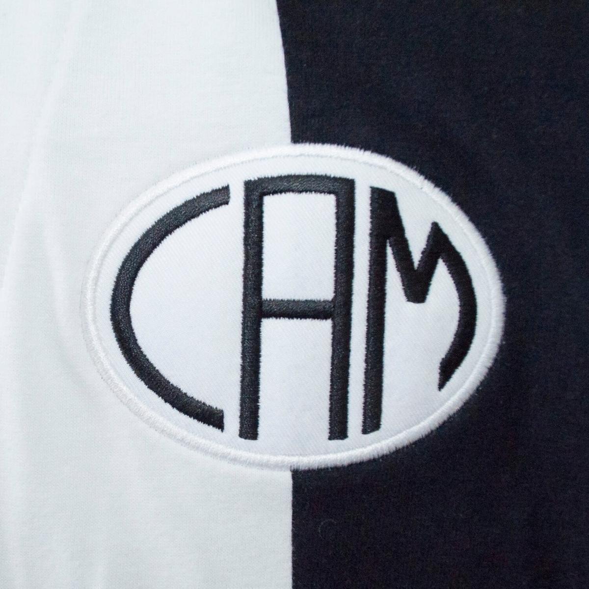 Camisa  Atlético Mineiro 1914 Retrô Masculina - Preto e Branco