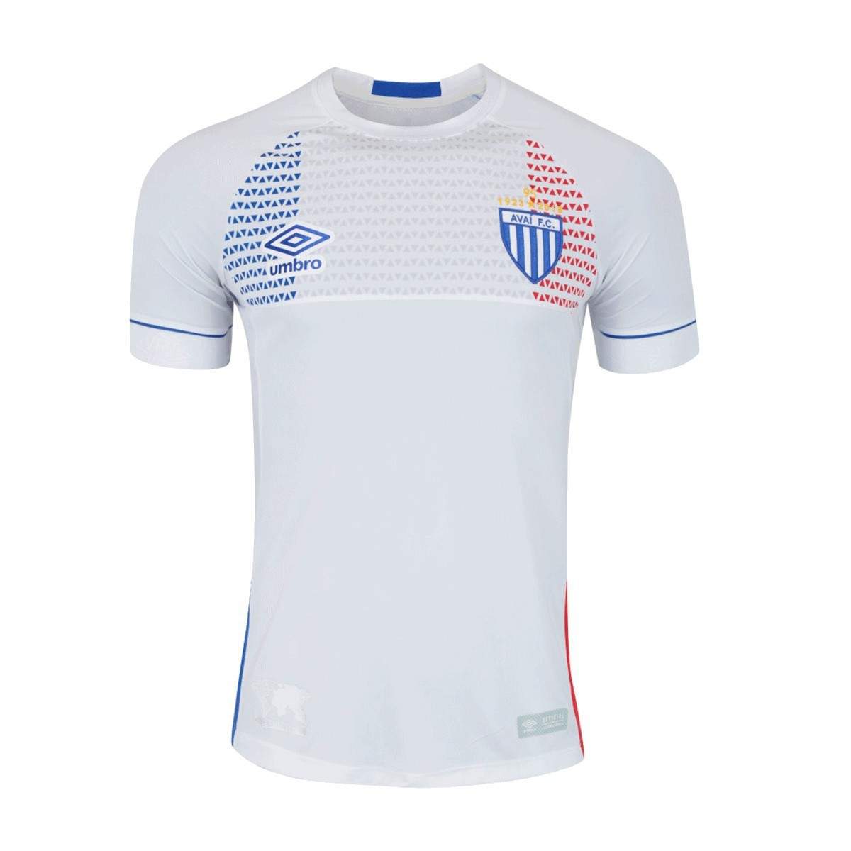 Camisa Avaí Umbro Nations Lion Bleu 18 19