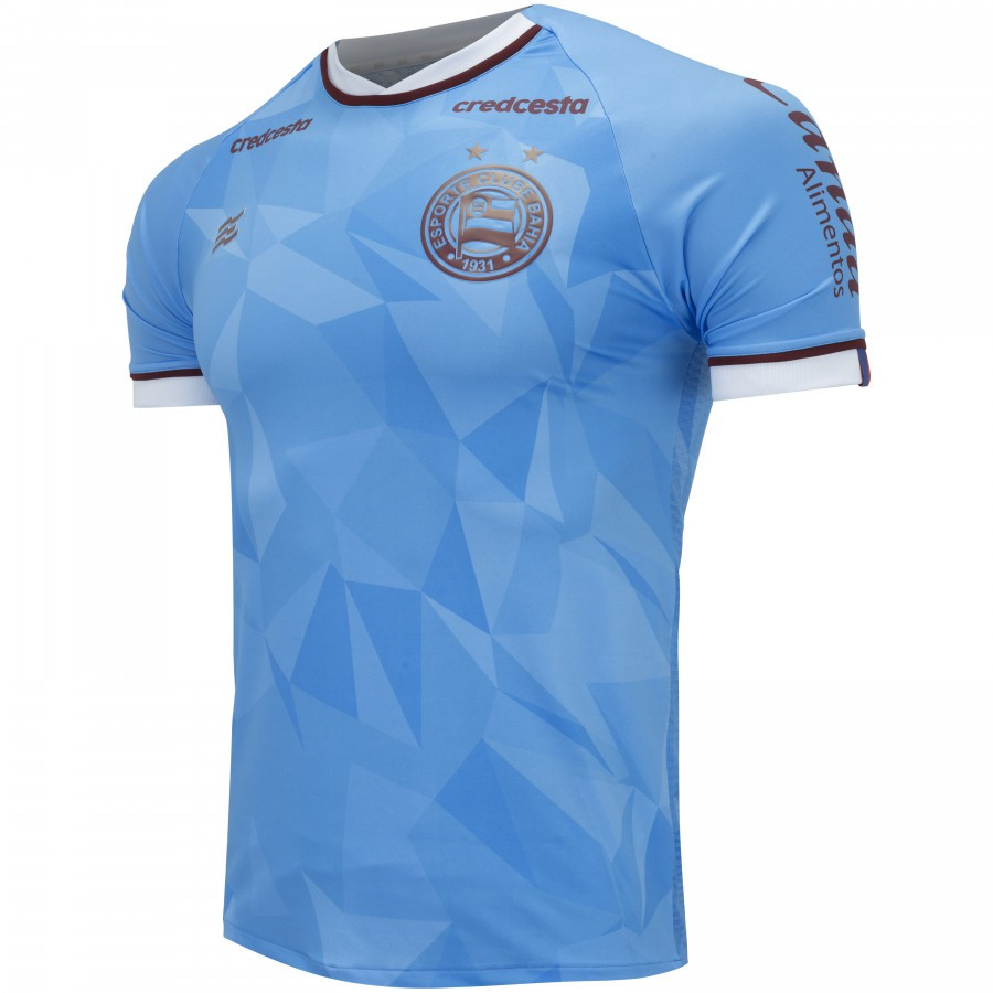 Camisa Bahia Goleiro Of. 1 20/21 Esquadrão Masculina Celeste