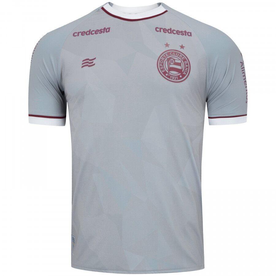 Camisa Bahia Goleiro Of. 2 20/21 Esquadrão Cinza