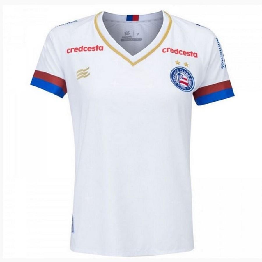 Camisa Bahia Of. 1 20/21 SN Esquadrão Feminina Branca