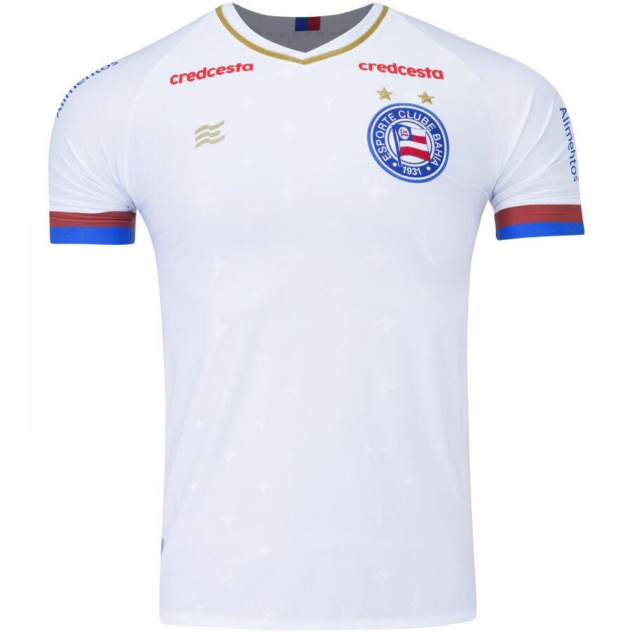 Camisa Bahia Of. 1 20/21 SN Esquadrão Masculina Branca
