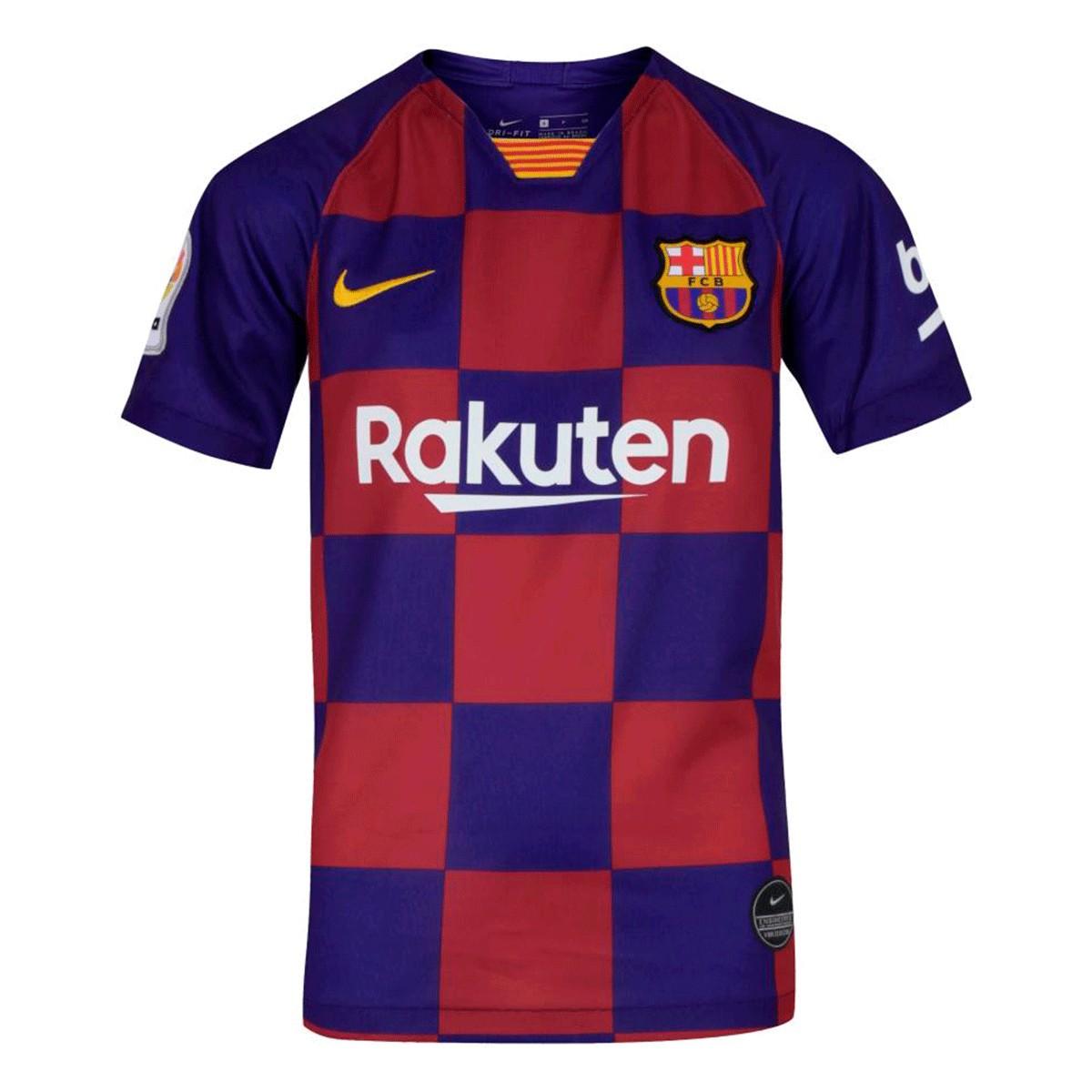 Camisa Barcelona Nike Home Infantil 19 20