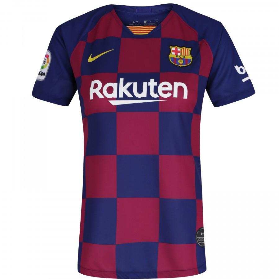 Camisa Barcelona Nike Home Torcedor Feminina 19 20
